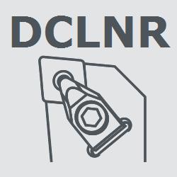 Державка токарная правая DCLNR2525M12