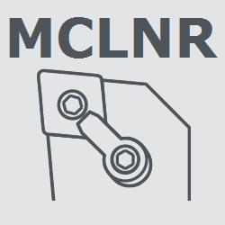 Державка MCLNR2525M12 токарная правая