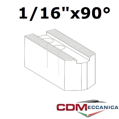 """Кулачок сырой 1/16""""x90° паз 21 мм для патрона AUTOBLOK 250мм (10"""") (высота  80 мм)"""